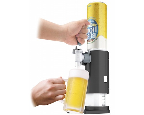 Table Beer Hour Foamy Head Server