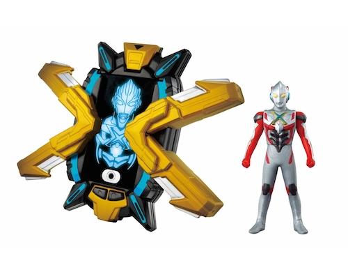 Ultraman X DX X-Devizer Tranformation Set