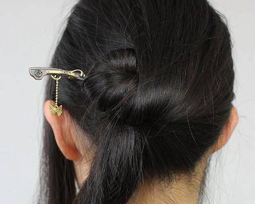 Wargo Nippon Matchlock Rifle Kanzashi Hairpin