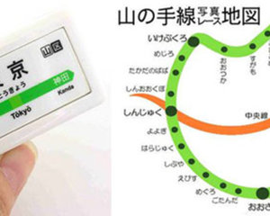 Yamanote Train Melody Strap set