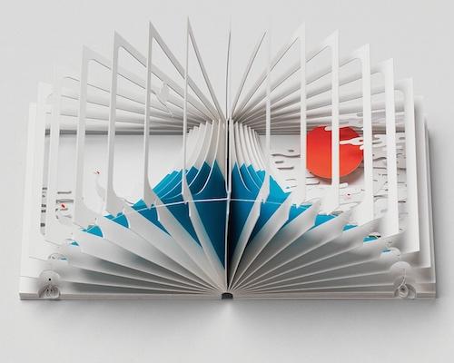 Mount Fuji 360-Degree Book by Yusuke Oono
