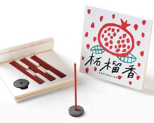 Zakuro-kou Incense Set