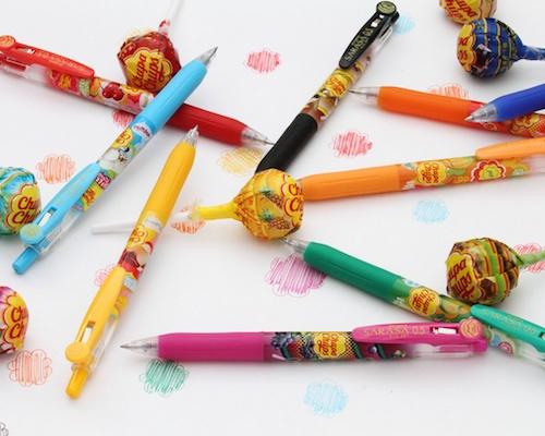 Zebra Sarasa Clip Chupa Chups Aroma Gel Pen Set